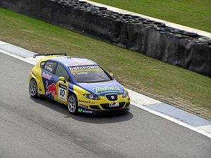 2006 World Touring Car Championship - The SEAT Leon of Peter Terting at the Curitiba event