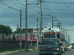 Girard and Lancaster station - Image: SEPTA10 Girard Avenue