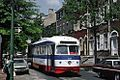 SEPTA trolley 2269 southbound on 4th Street at Manning St on route 50, May 1976.jpg