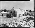 SOUTHWEST CORNER, VIEW TO NORTHEAST - P. J. Almquist House, 16 Second Street Northwest, Waukon, Allamakee County, IA HABS IOWA,3-WAUK,1-5.tif