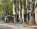 SW 6th & Pine MAX stop NB - Portland, Oregon.JPG