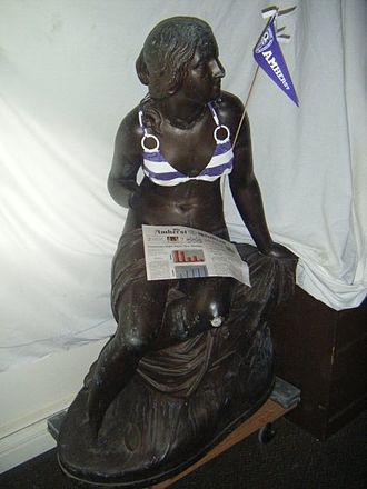 Sabrina statue - Photo included in email.
