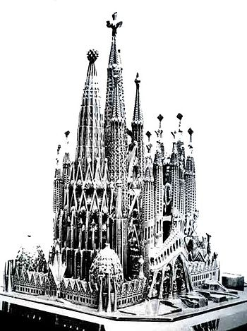 Maqueta de la Sagrada Familia