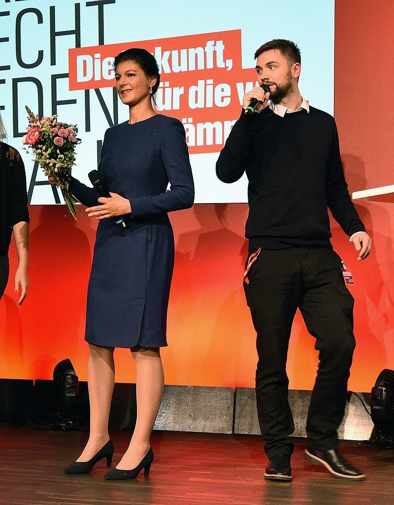 Sahra Wagenknecht bei der Bundestagswahl 2017 Wahlabend Die Linke (Martin Rulsch) 39.jpg