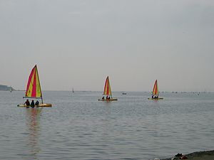 Sailing on West Kirby Marine Lake - 2003-07-15 (1).JPG
