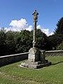 Saint-Caradec-Trégomel (56) Croix de cimetière 01.JPG