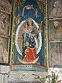 Saint-Herbot 15 Eglise Statue Notre-Dame de Bonne Nouvelle.JPG