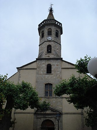 Saint-Jean-du-Bruel - The church in Saint-Jean-du-Bruel