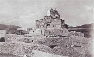 Roman Armenia - The Saint Bartholomew Monastery at the site of the Apostle's martyrdom in historical Armenia