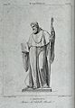 Saint Bernard of Uberti. Steel engraving by G. Marcucci afte Wellcome V0031724.jpg