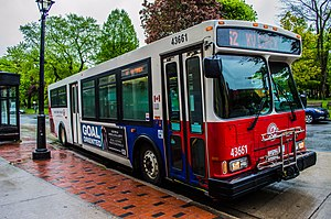 Saint John Transit - Image: Saint John Transit bus 43661