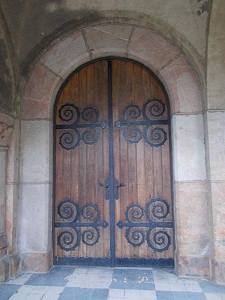 File:Saint Vincent de Paul church (1936). Door. - Budapest.JPG