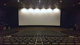 Movie theater - Modern cinema auditorium.
