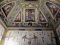 Sala di cosimo il vecchio, soffitto, afferschi di vasari e marco marchetti 09.JPG