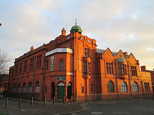 Salford Lads' Club - The building includes a boxing ring, snooker rooms and a gym