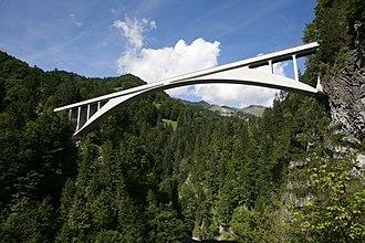 Schiers - Image: Salginatobel Bridge mg 4077