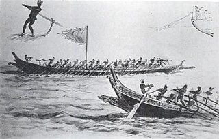 A type of pirate boat from Nusantara