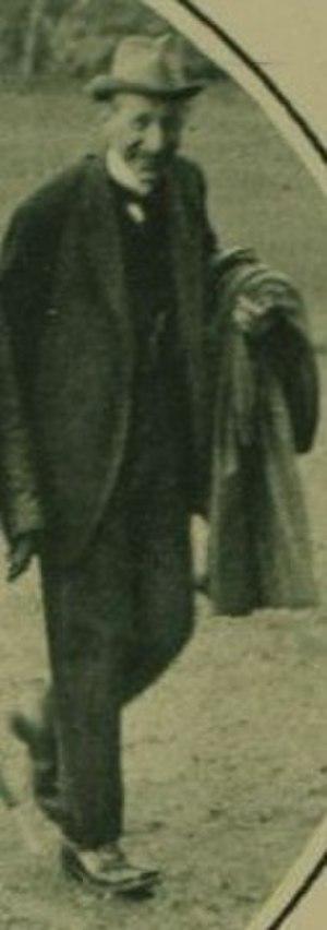 Samuel Cunningham - Cunningham in 1921
