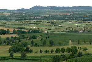 Desenzano del Garda - Image: San Martino della Battaglia Aussicht Solferino