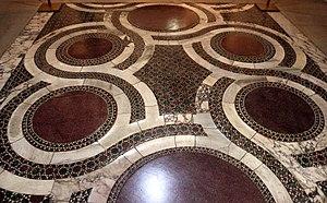 Sancta Sanctorum - Sancta sanctorum, pavimento cosmatesco del 1278
