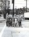Sand Point Elementary (Seattle, Washington) students in crosswalk, 1972.jpg