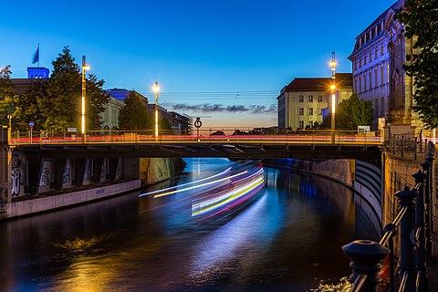 Sandkrugbrücke, titi di Berlin, Jeureuman (rayek gamba: 5.472×3.648)