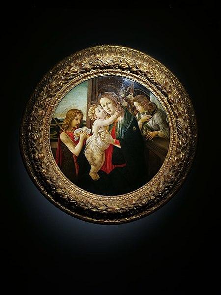 File:Sandro Botticelli, Madonna con Bambino (Tondo Luzzetti).jpg