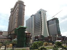 Sands Cotai Central Hotel Towers on 18 August 2011.jpg