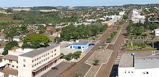Santa Izabel do Oeste Municipality in Southern, Brazil