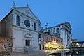 Santa Maria della Visitazione e chiesa dei Gesuati Venezia notte.jpg