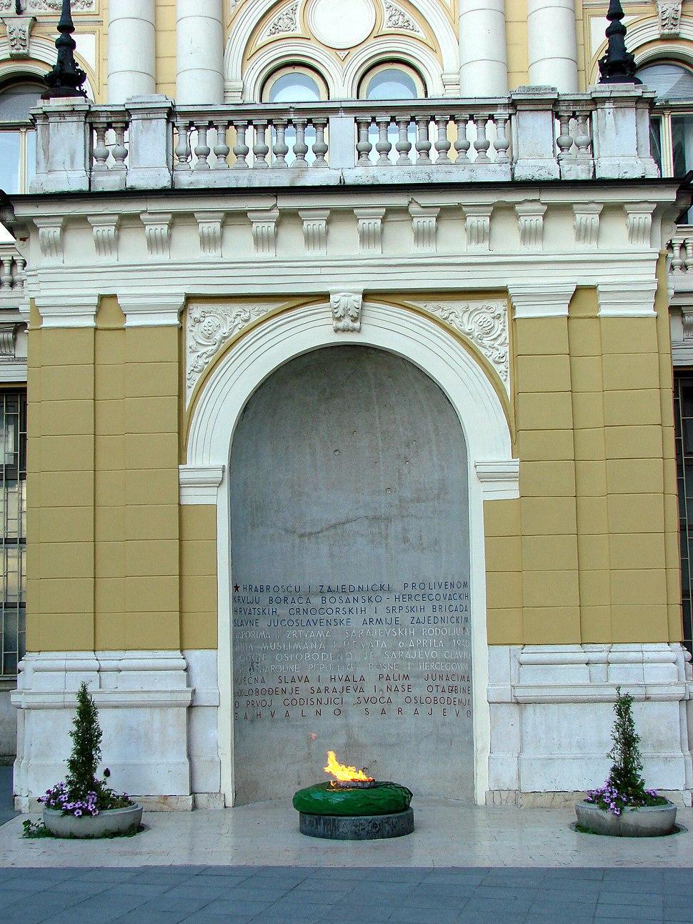 Sarajevo - Bosnia - War Memorial