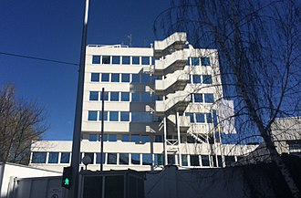 High Representative for Bosnia and Herzegovina - OHR building in Grbavica