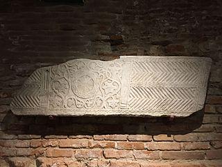 Cuve de sarcophage paléochrétien (Ra 764 d)