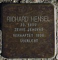 Sassnitz, Weddingstr. 12, Stolperstein Richard Hensel.jpg