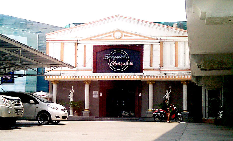 A massage parlor and soapland in Chiang Mai, Thailand