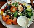 Scallop salad - Cliff House Maine - Cape Neddick, Maine - 20180723 141842.jpg