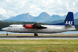 Molde Airport, Årø - Scandinavian Commuter Fokker 50