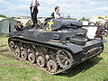 Schützenpanzer Kurz armored vehicle visually modiefied to resemble a Panzerkampfwagen II light tank (2).jpg