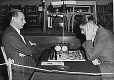 Henri Grob vs. Willem Muhring (Hastings, 1947-48)