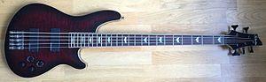 Schecter Guitar Research - A Schecter C5 Bass
