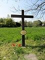 Schlebuschrath Kreuz mit Hinweisschild.jpg
