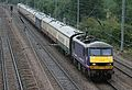 Scotrail Class 90 heads north through Cadwell, north of Hitchin, Hertfordshire. - panoramio.jpg
