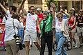 Scott Dibble and Karen Clark - Twin Cities Pride Parade (24937152602).jpg
