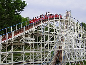 Six Flags St. Louis - Image: Screamin Eagle, Six Flags St. Louis