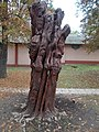 Sculpture, mermaid (2002), MAV Park, 2016 Dunakeszi-Gyartelep.jpg