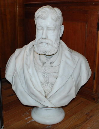 William Grant Stevenson - Stevenson's bust of the Earl of Southesk