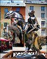 Scultura equestre di arte contemporanea - Briançon - panoramio.jpg