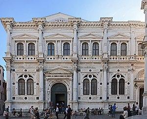 Scuola Grande di San Rocco - Facade on Campo San Rocco