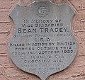 Seán Treacy Commemorative plaque.JPG