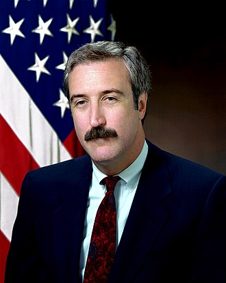 Under Secretary of Defense (Comptroller) - Image: Sean O'Keefe, official Navy photo, 1992